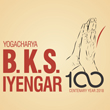 BKS Iyengar Yoga 100 Years Logo